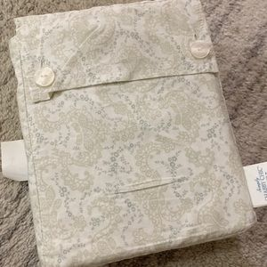 Simply Shabby Chic Floral Stitch twin sheer set